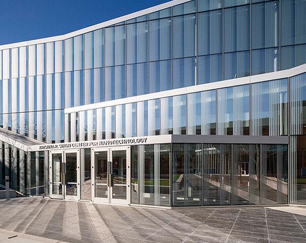 Singh Center facade